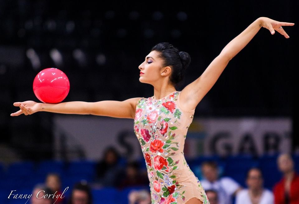 14th in all-around at RG World Championships 2015 - Varvara Filiou (Greece)