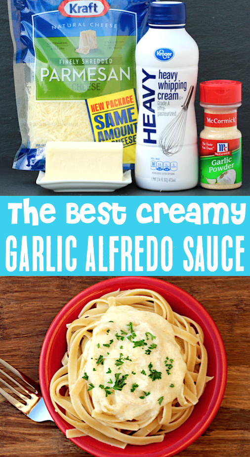Photo of Best Alfredo Sauce Recipe Ever! Better than Olive Gardens