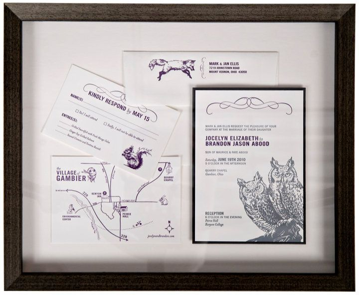 Artists Frame Service | Wedding Invitation | Wedding Framing ...