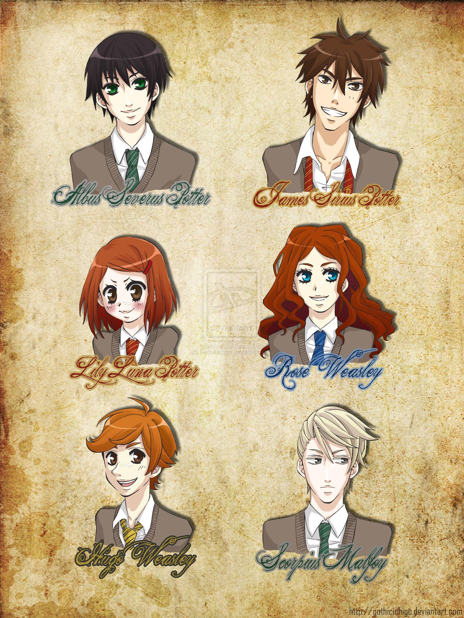 Hp Next Generation Pt1 By Gothicichigo On Deviantart Harry Potter Funny Harry Potter Art Harry Potter Music