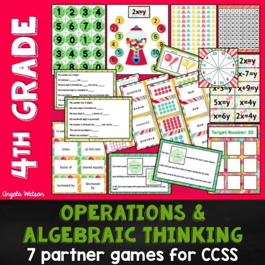 Math Games And Math Center Ideas