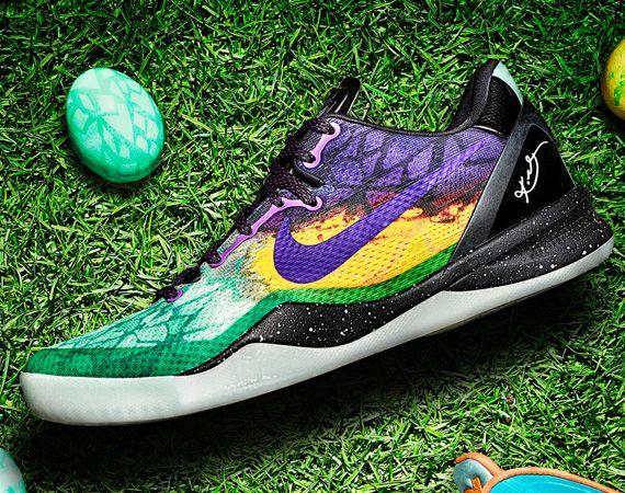 promo code 7fdc7 e297e Kobe 8 Easter   Shoes   Nike shoes, Sneakers nike, Nike tights