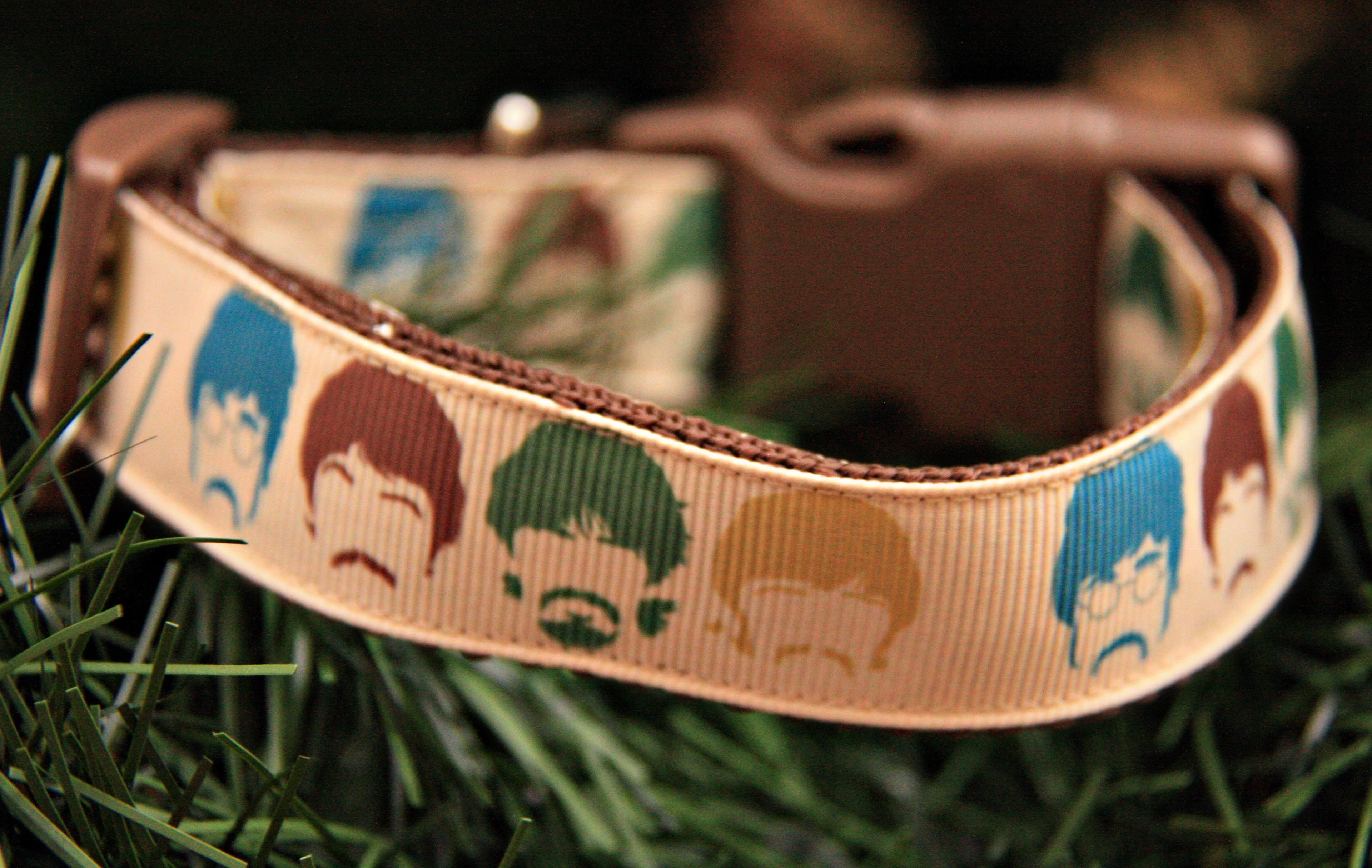 Beatles Inspired 1 Dog Collar 1500 Find Bonzai Gifts On