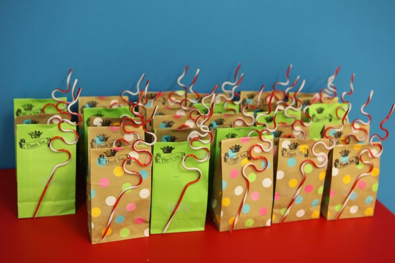 Football team treat bag ideas Here we gobirthday treat bags