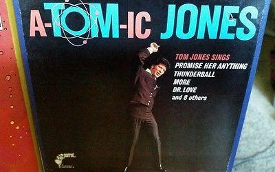 Mid Century Modern Tom Jones Atomic Jones, Joe Harnell Reel to Reel