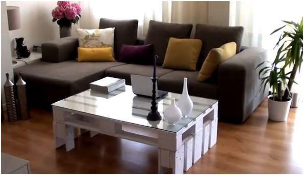Tavolino Soggiorno ~ Tavolino da salotto con pallet video tutorial
