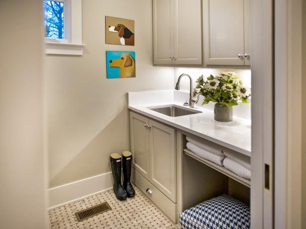 Smart Home 2014 Laundry Room Tour Room pictures, Laundry rooms