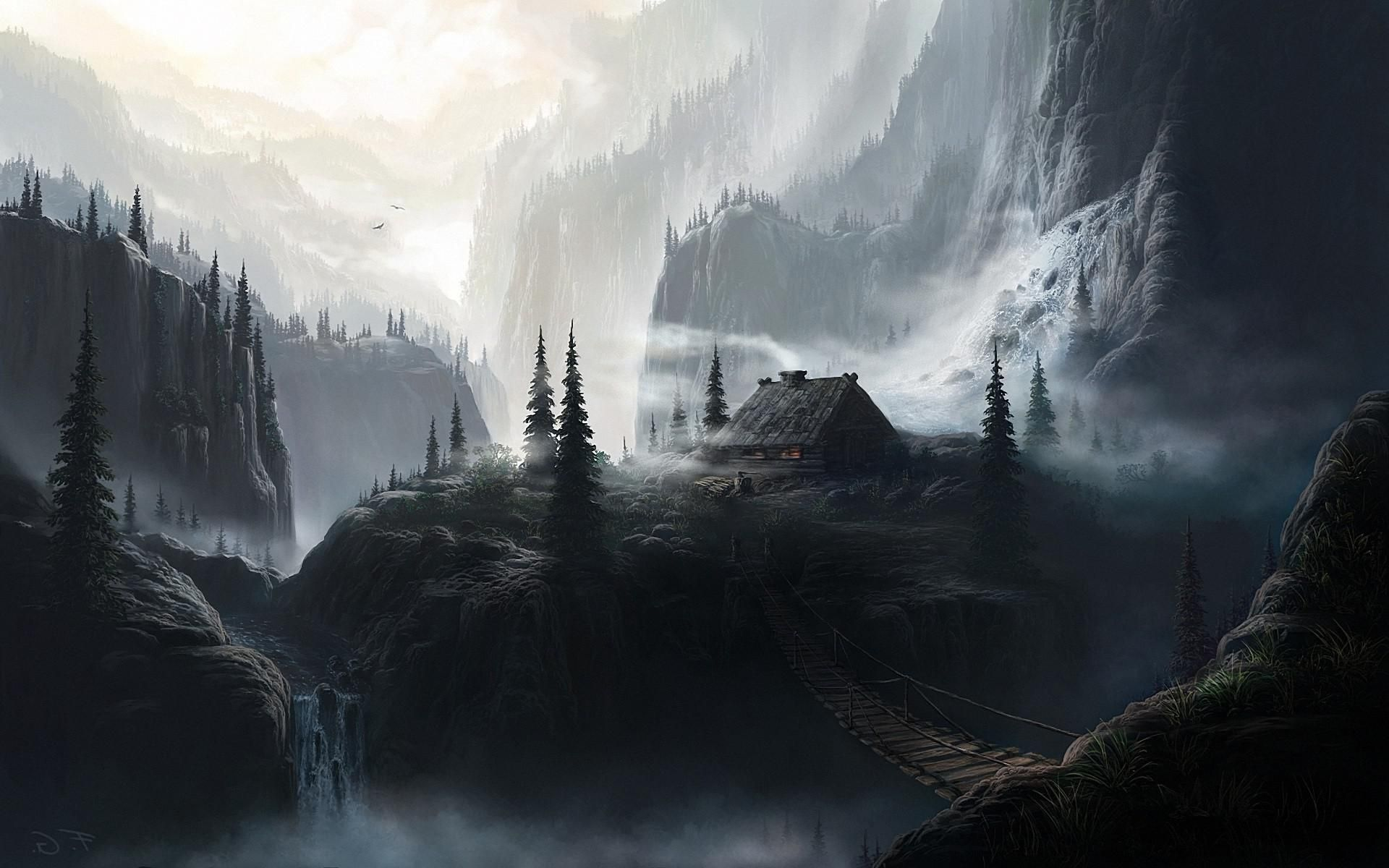High Resolution Fantasy Wallpaper Art Painting Artwork