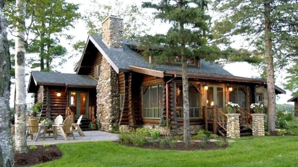 13 Unique Home Cabin Design For Best Cabin Inspiration Decorathing Cabin Style Homes Small Cabin Plans Cottage House Plans