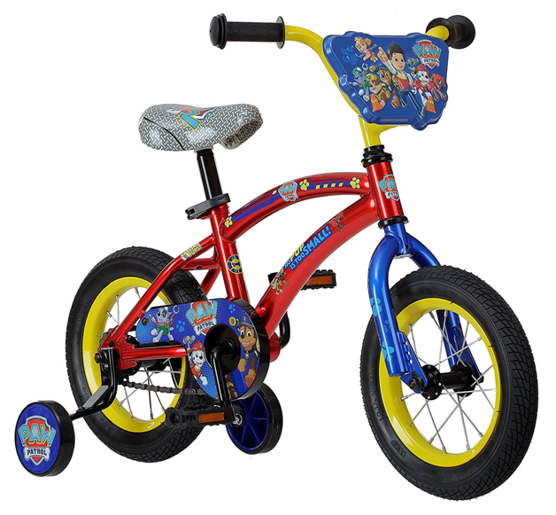 444b9004f7c Paw Patrol 12 inch Beginner Bicycle for Boys from Training Wheels ...