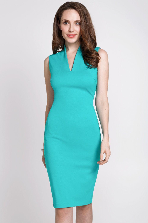 aeb3cbe12 Вы можете купить Платье бирюзовое в интернет магазине Concept Club. Заказать  модную женскую брендовую одежду