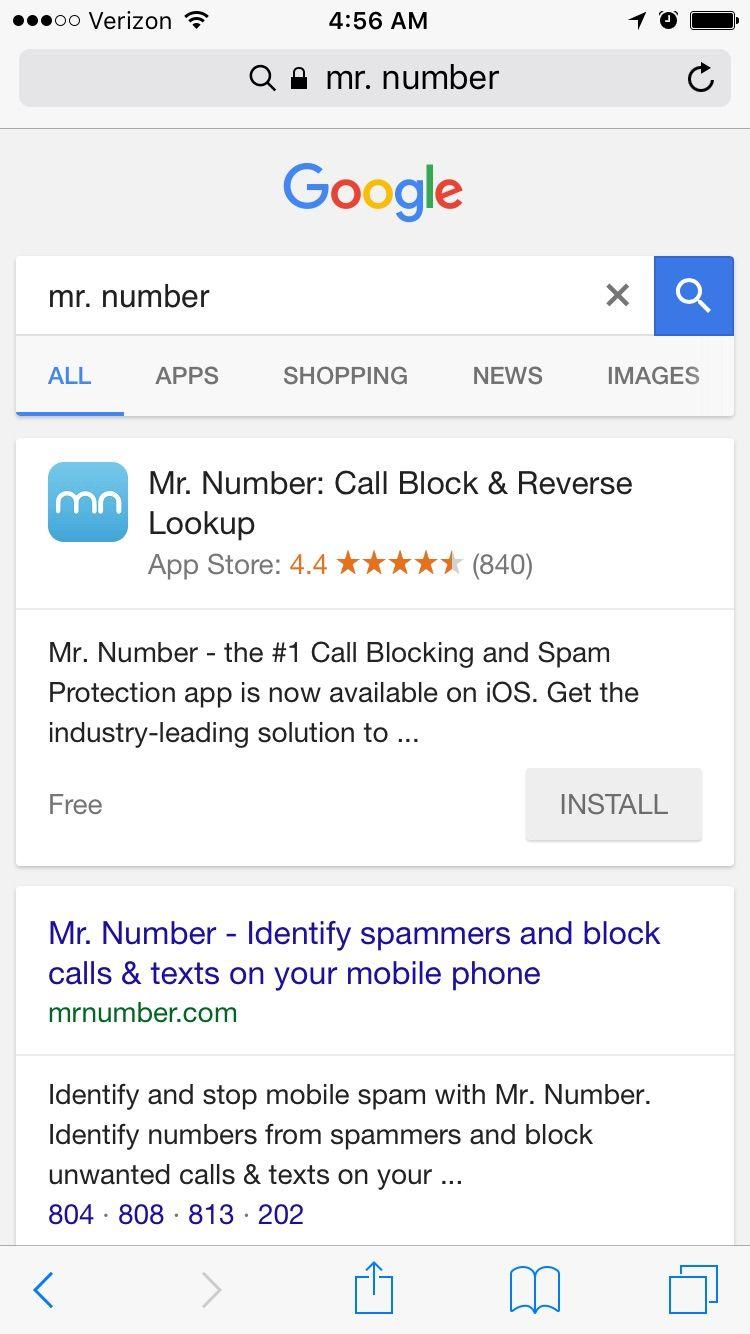 Spam Blocking Iphone Hacks Search Video Reverse Lookup