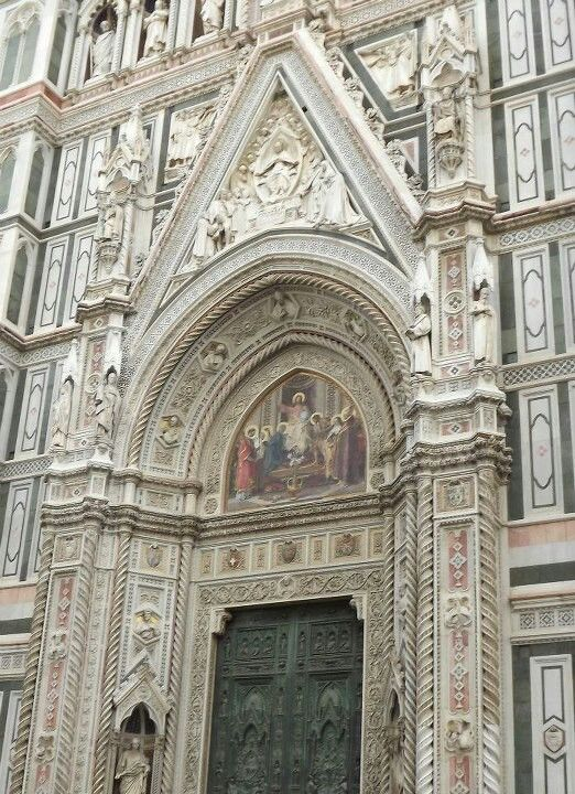 Florence notice pink marble