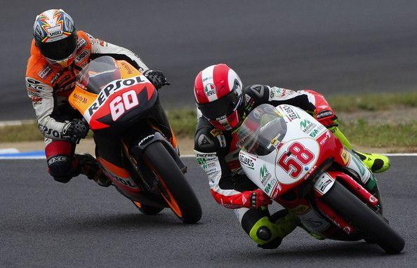 Marco Simoncelli Photos Photos Motogp Of Japan Motogp Japan 250cc