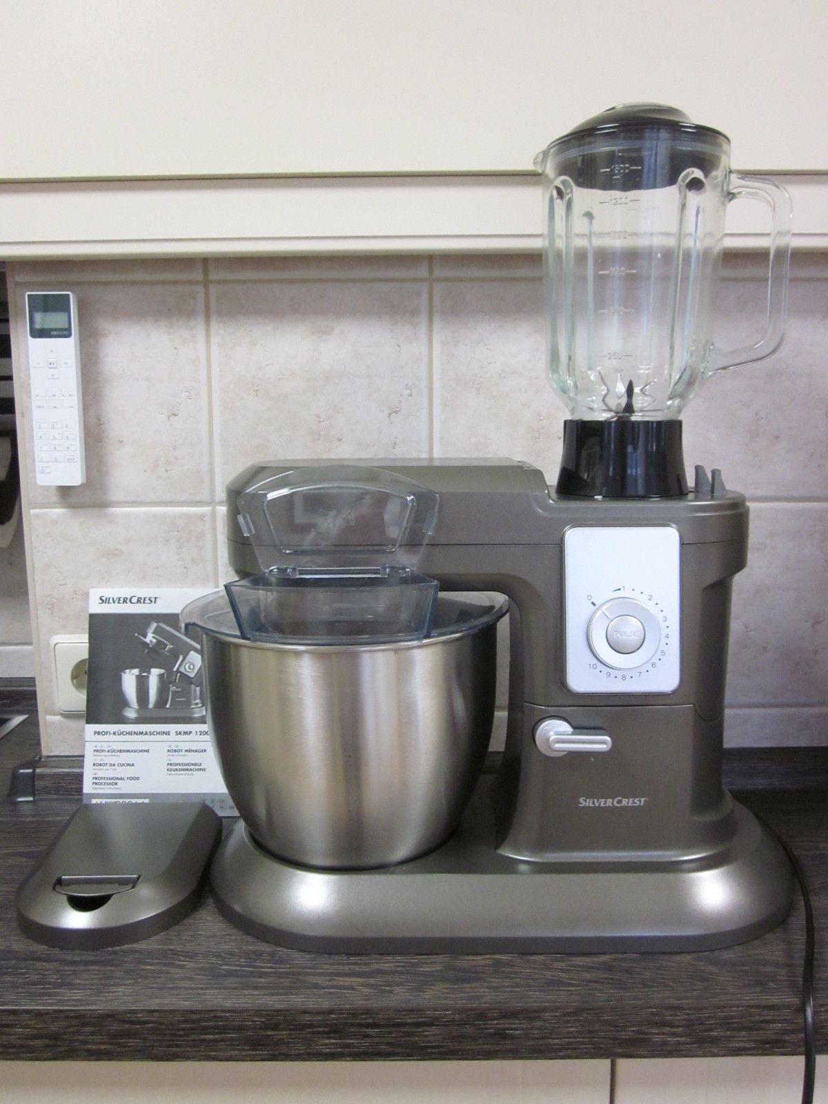 Küchenmaschine, Profi - Küchenmaschine, SILVERCREST, Mixer, mixen ...