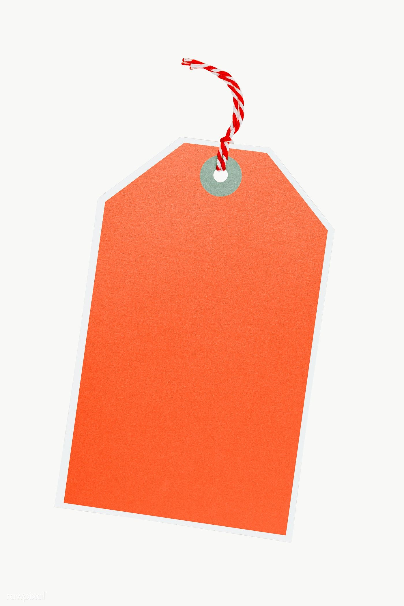 Handmade orange paper tag transparent png | premium image by rawpixel.com /  Karolina / Kaboompics | Design mockup free, Price tag design, Tag template