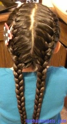 Strange 2 French Plaits French Braids And Plaits On Pinterest Hairstyles For Women Draintrainus