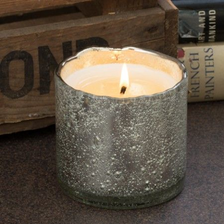Himalayan Handmade Candle - Patchouli Ginger - Silver ...