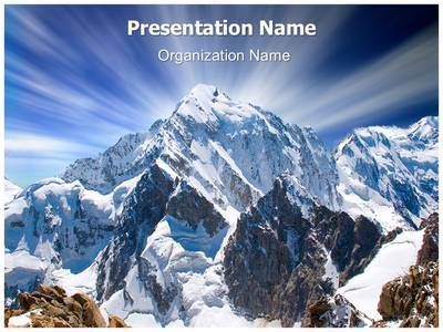 Mount everest powerpoint template is one of the best powerpoint mountain range mount everest powerpoint template toneelgroepblik