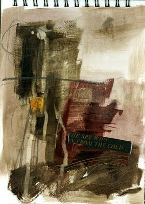 collage journeys: Paint-Collage-Line - Jane Davies