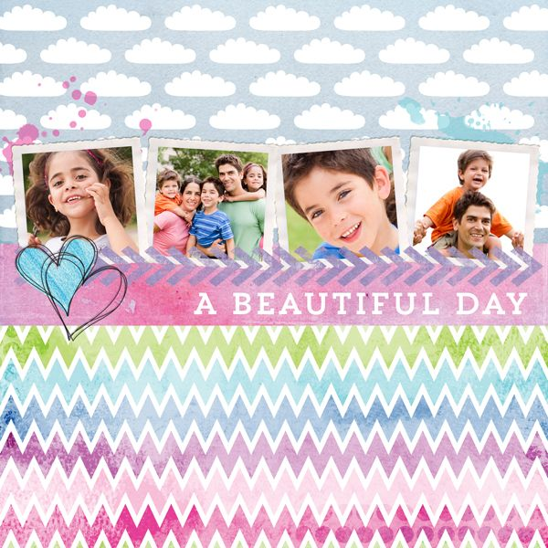 The Digichick :: Digital Kits :: Heartland paper pack