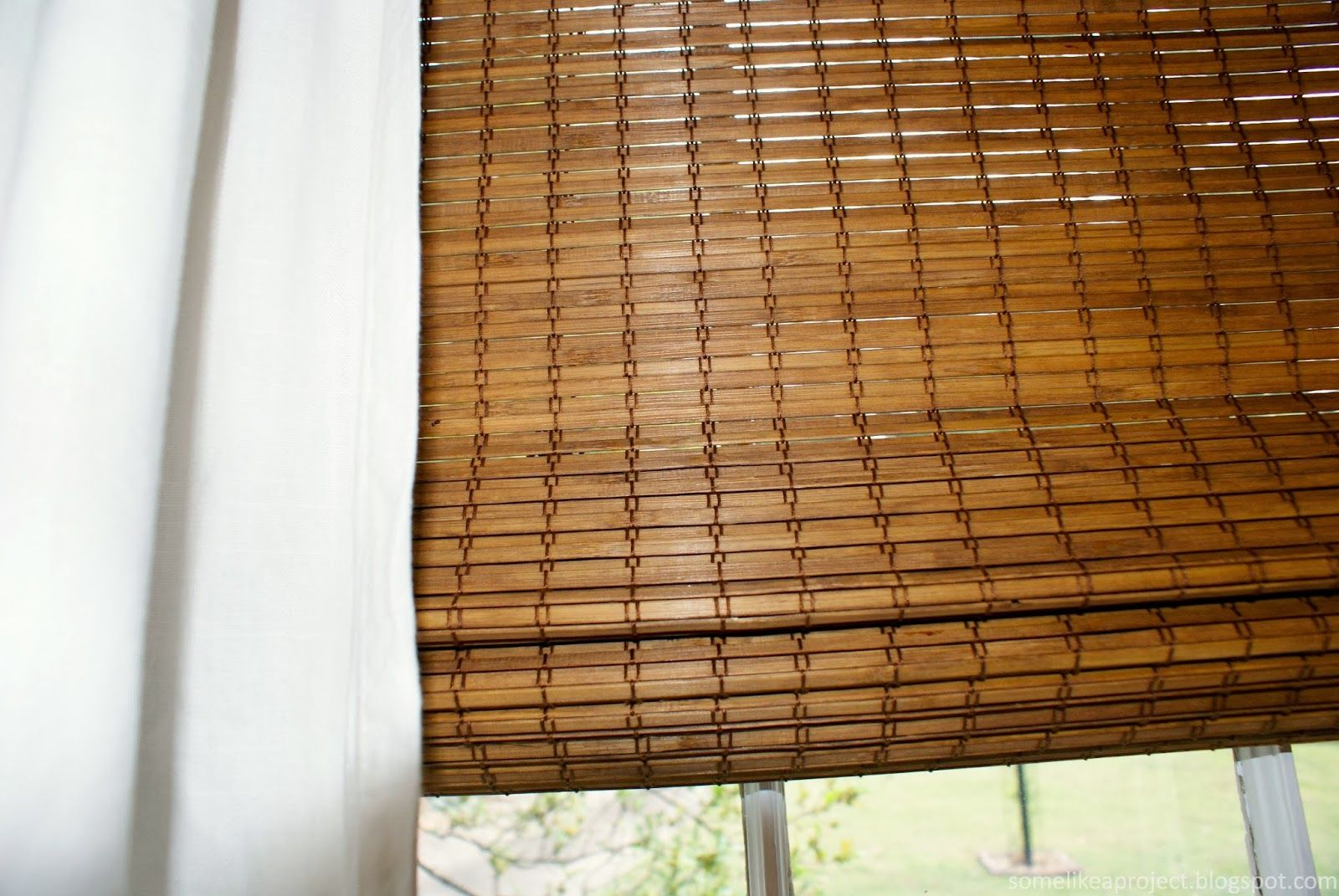 Bamboo roman shades ikea are of with rattan blinds images