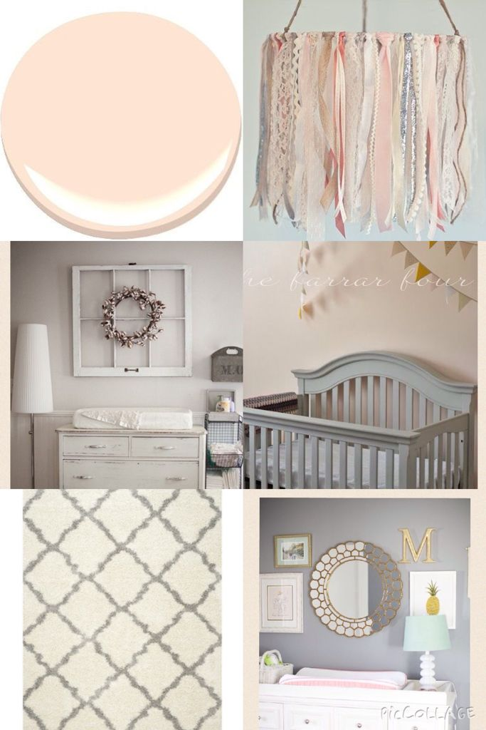 Baby S Room Inspiration Paint Color Peach Nectar Benjamin Moore Rug