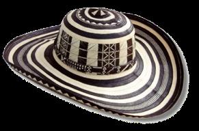 Sombrero Volteado Sombrero Vueltiao Sombreros Colombia