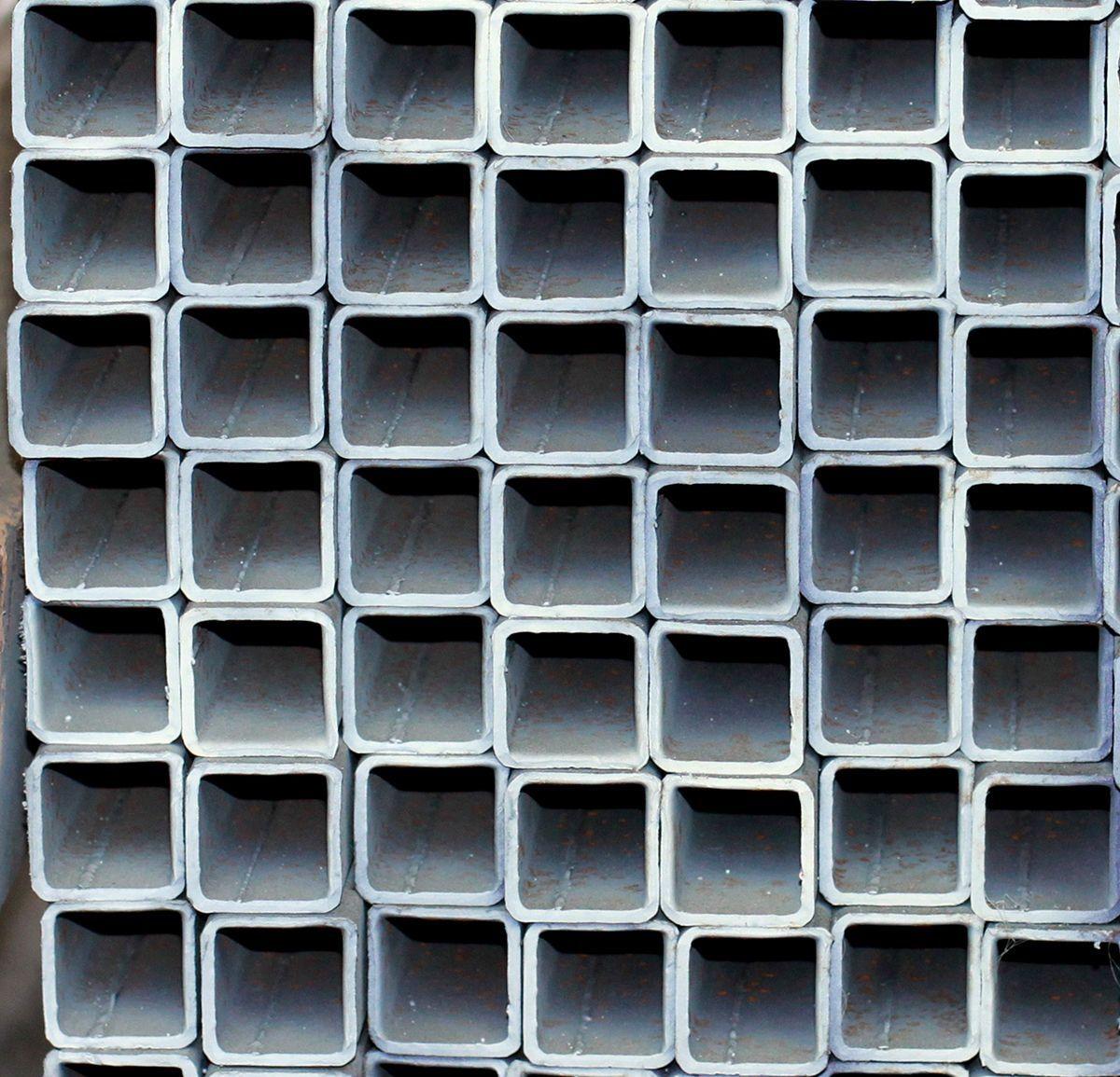 25 Galvanized Square Tubing 2 12 X 24 14 Gauge Tampa Steel Metal Carport Tubing Metal Carports Carport Designs Custom Carports