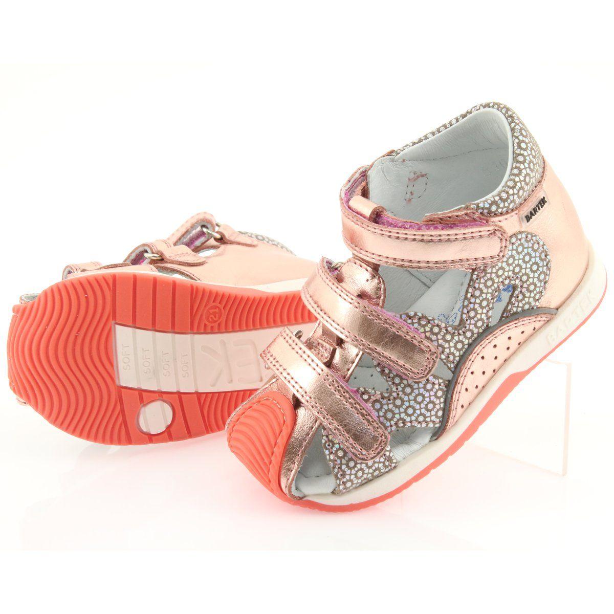 Bartek 81021 Sandalki Rozowe Zloto Pomaranczowe Szare Zolte Girls Shoes Childrens Shoes Kid Shoes