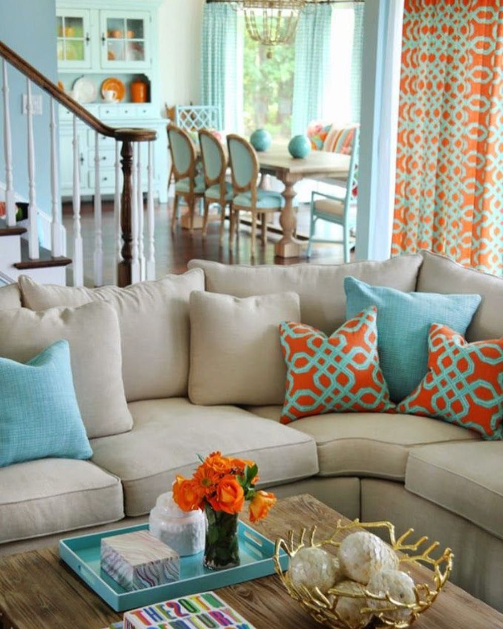 Bright Orange Living Room Accessories: Add A Whimsical Touch To Your Decor By Using Bold Shades