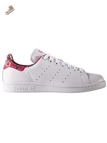adidas Stan Smith W Womens Trainers White Tropical - 5 UK - Adidas sneakers  for women
