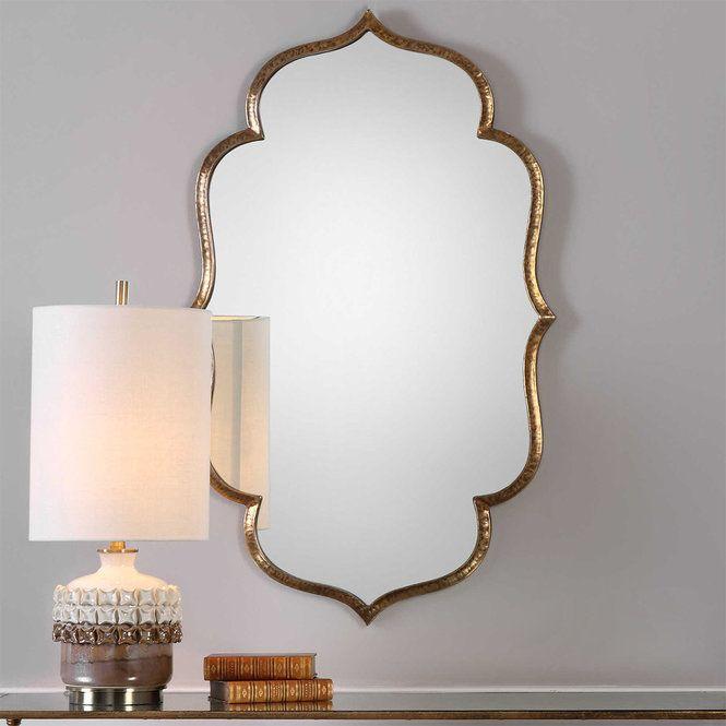 Luxe Bohemian Mirror Gold Mirror Wall Moroccan Mirror Wall