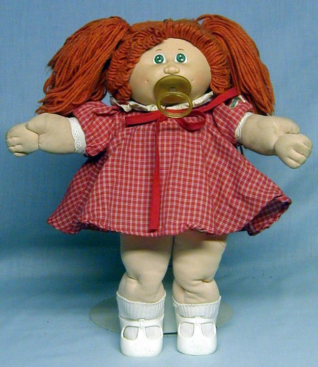 Cabbage Patch Kid 1984 Coleco Red Head With Pacifier Cpk Cabbage Patch Dolls Vintage Cabbage Patch Dolls Cabbage Patch Babies