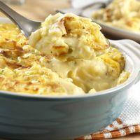 Cheddar Potato Casserole - holiday side dish