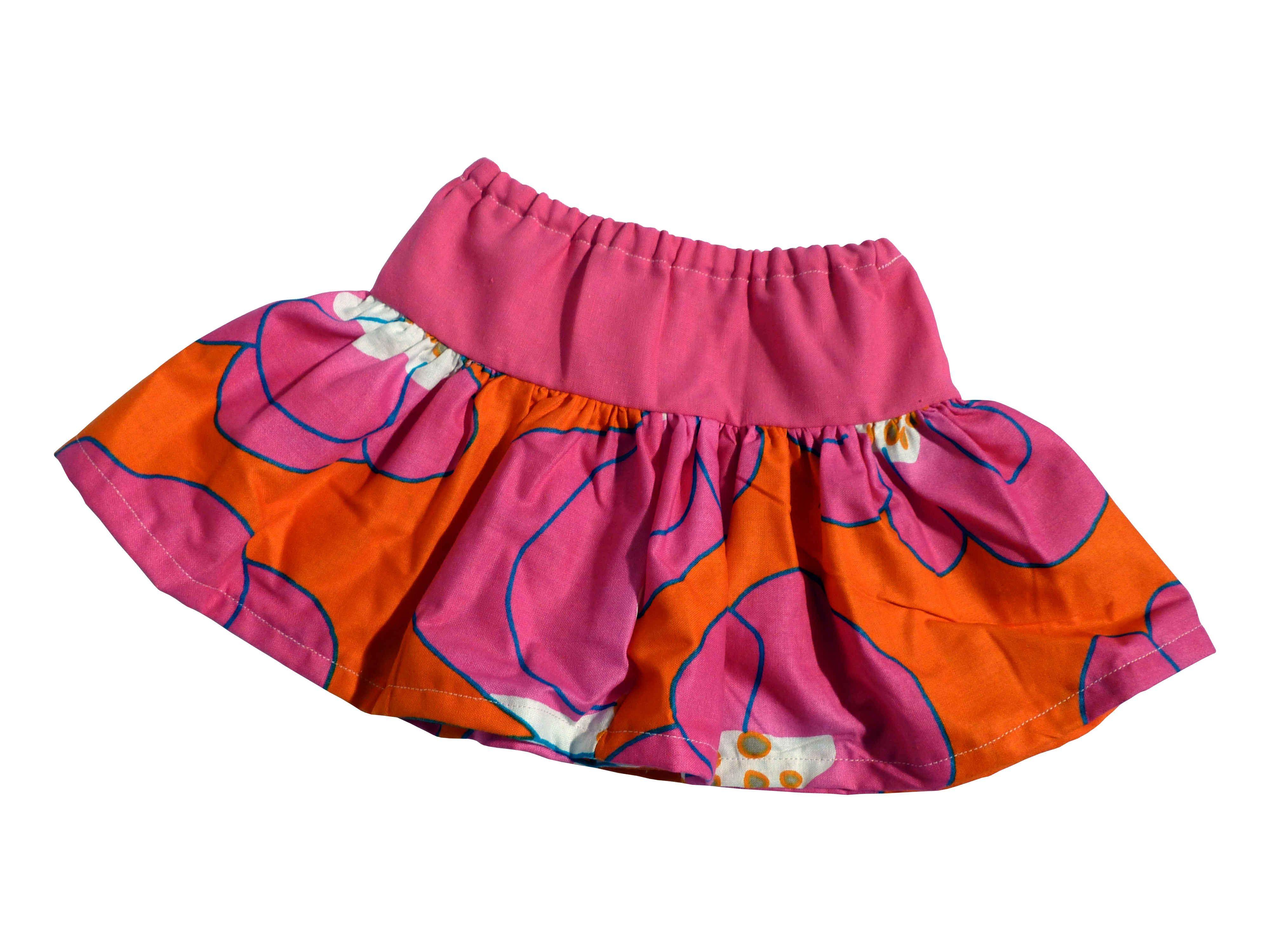 Skirt - Rock aus Stoffresten, Upcycling