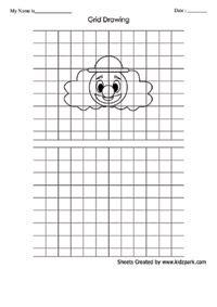 Drawing Grid Art Worksheets Printable Worksheets for all ...