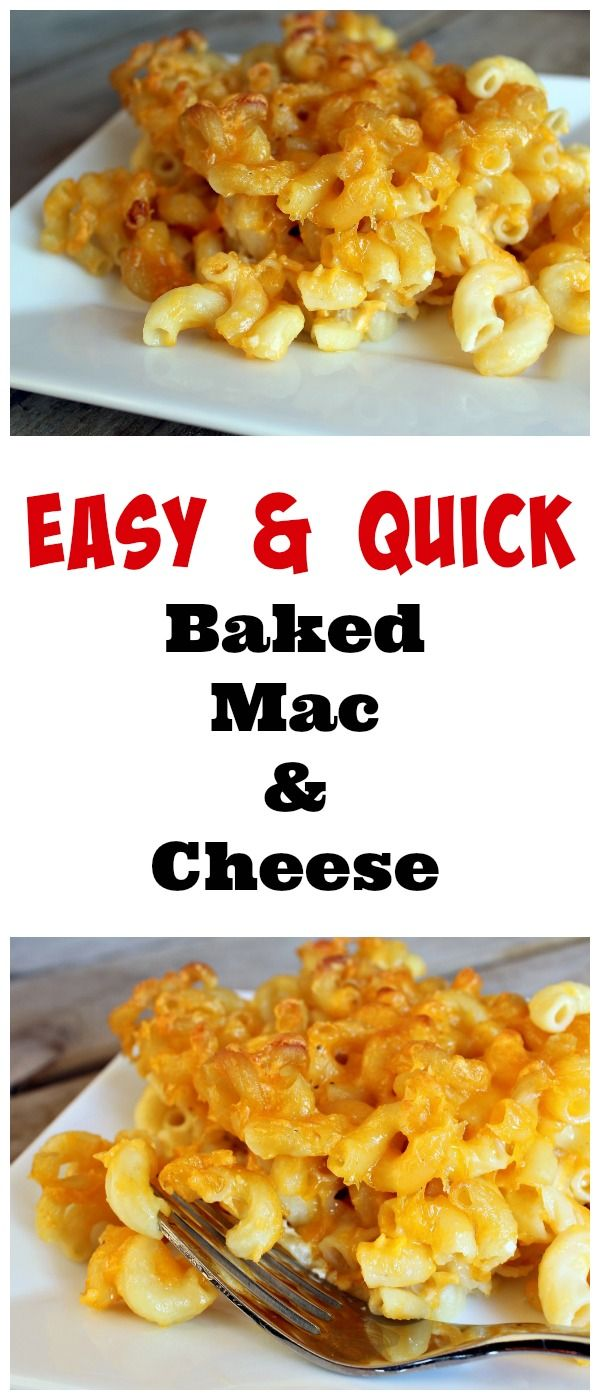 Easiest Ever Baked Macaroni And Cheese With Video Recipe