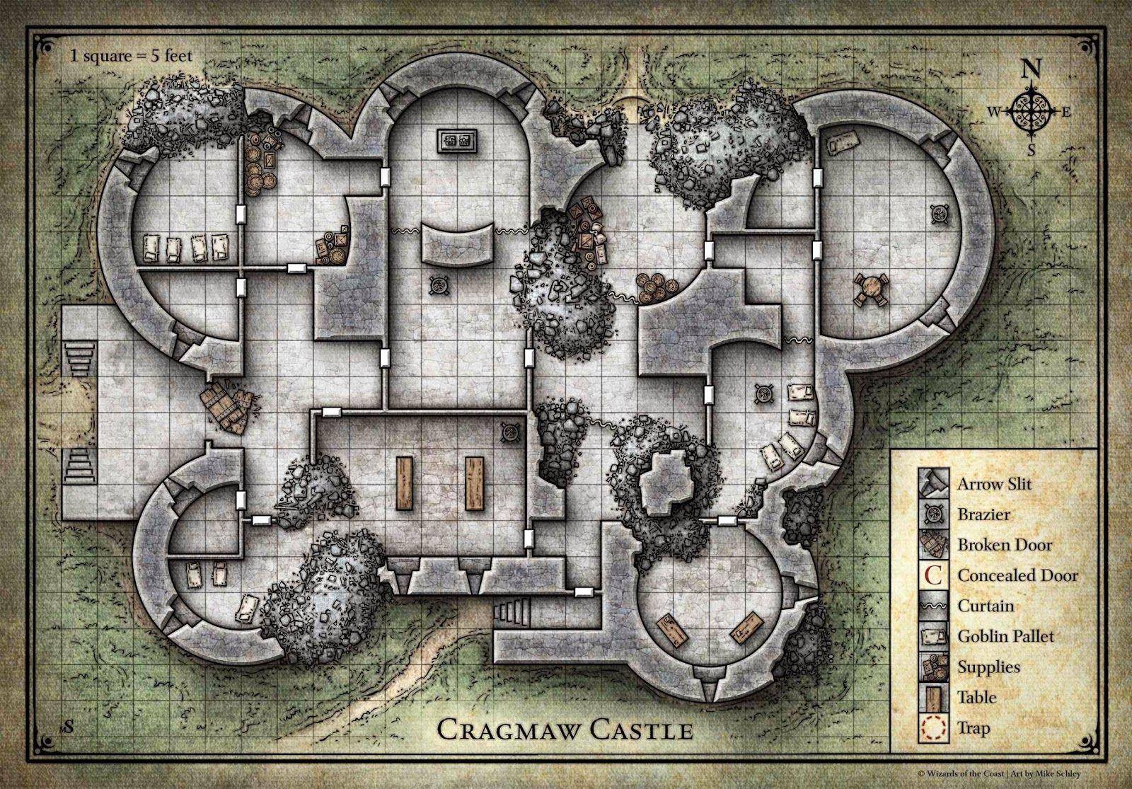 photo regarding Cragmaw Hideout Printable Map named My Realms: Beginner Fixed Sandbox 5 - Cragmaw Hideout, Cragmaw
