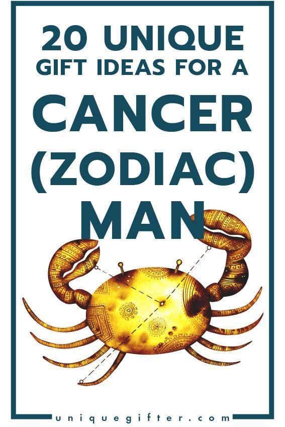 Superb Gift Ideas For A Cancer Zodiac Man