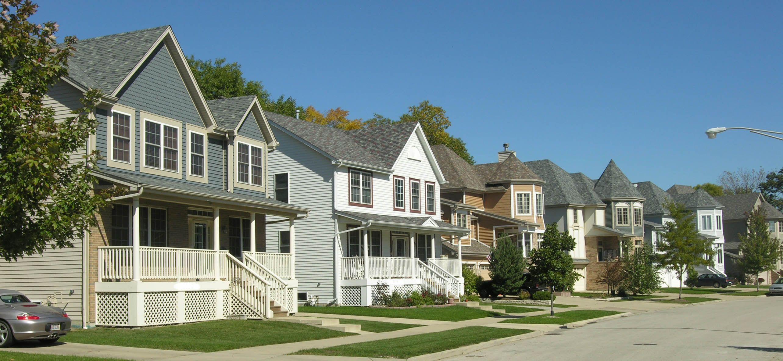 suburban neighborhood - Google Search