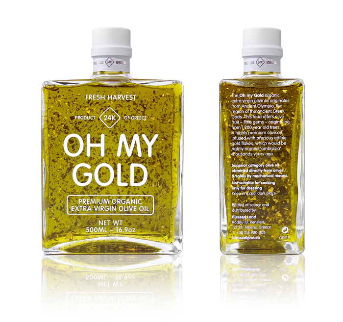 Oh my Gold!, Premium products with Edible Gold by g design studio