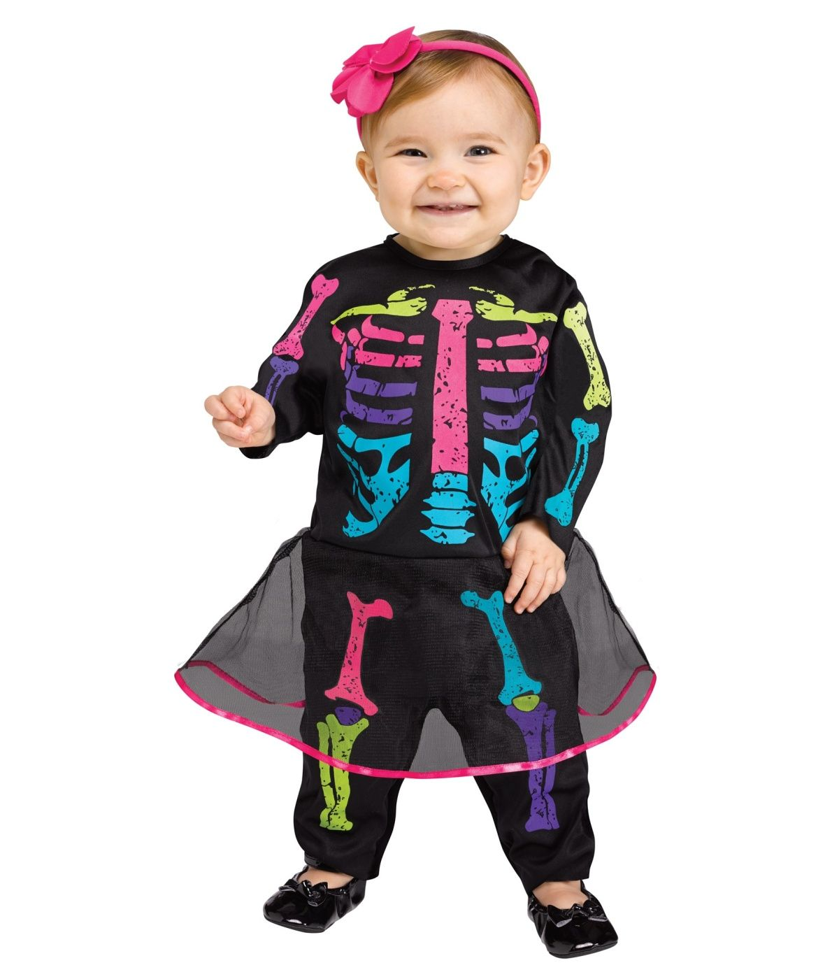 Multicolored Skeleton Baby Girl Costume - Kids Costumes | Kids .  sc 1 st  Pinterest & Multicolored Skeleton Baby Girl Costume - Kids Costumes | Kids ...