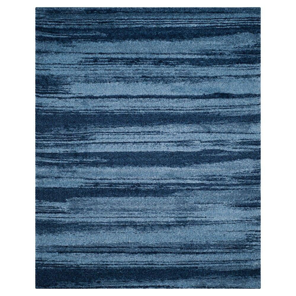 Safavieh Ulla Area Rug Light Blue Blue 8 X 10