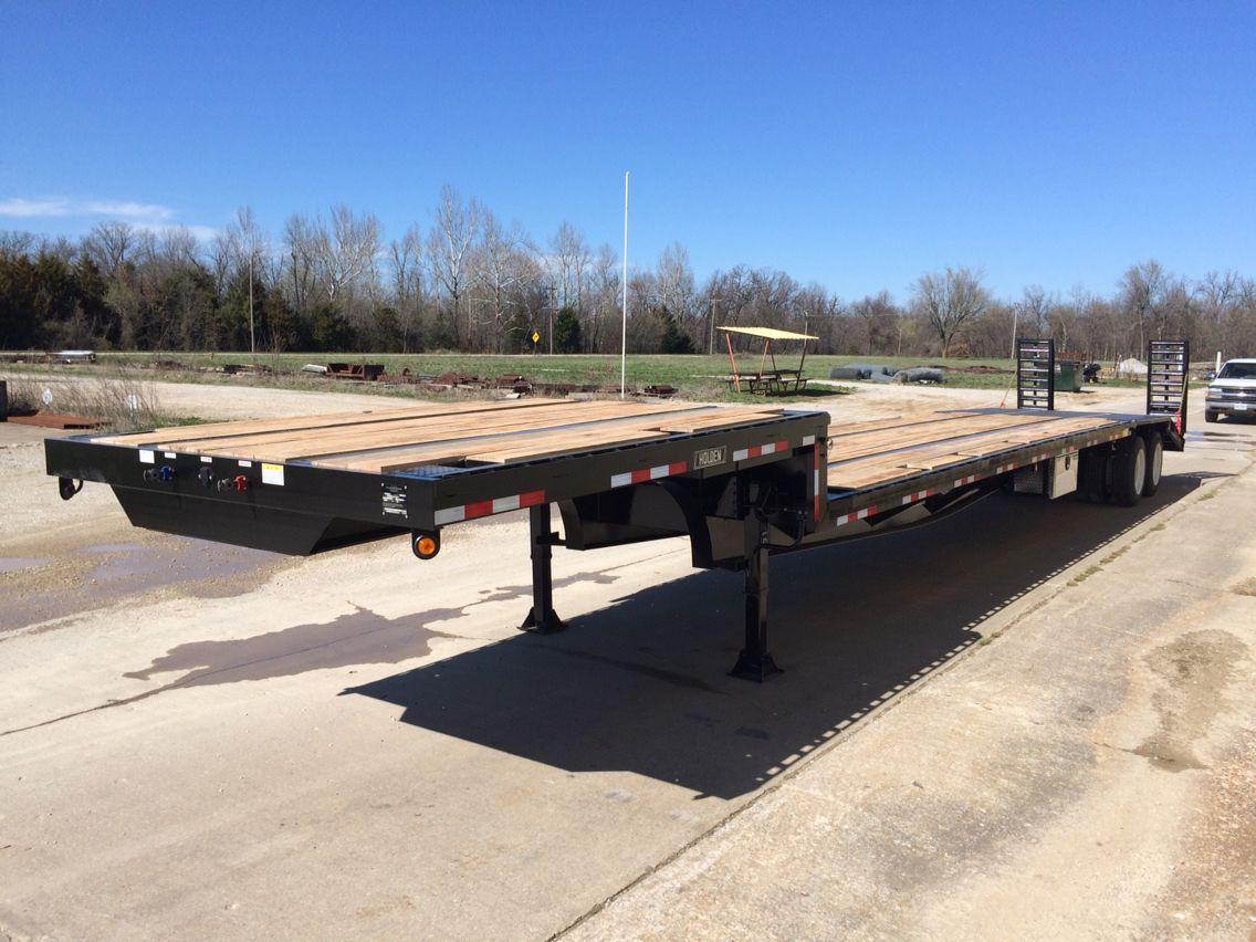 Holden hlb35 ton step deck lowboy trailer