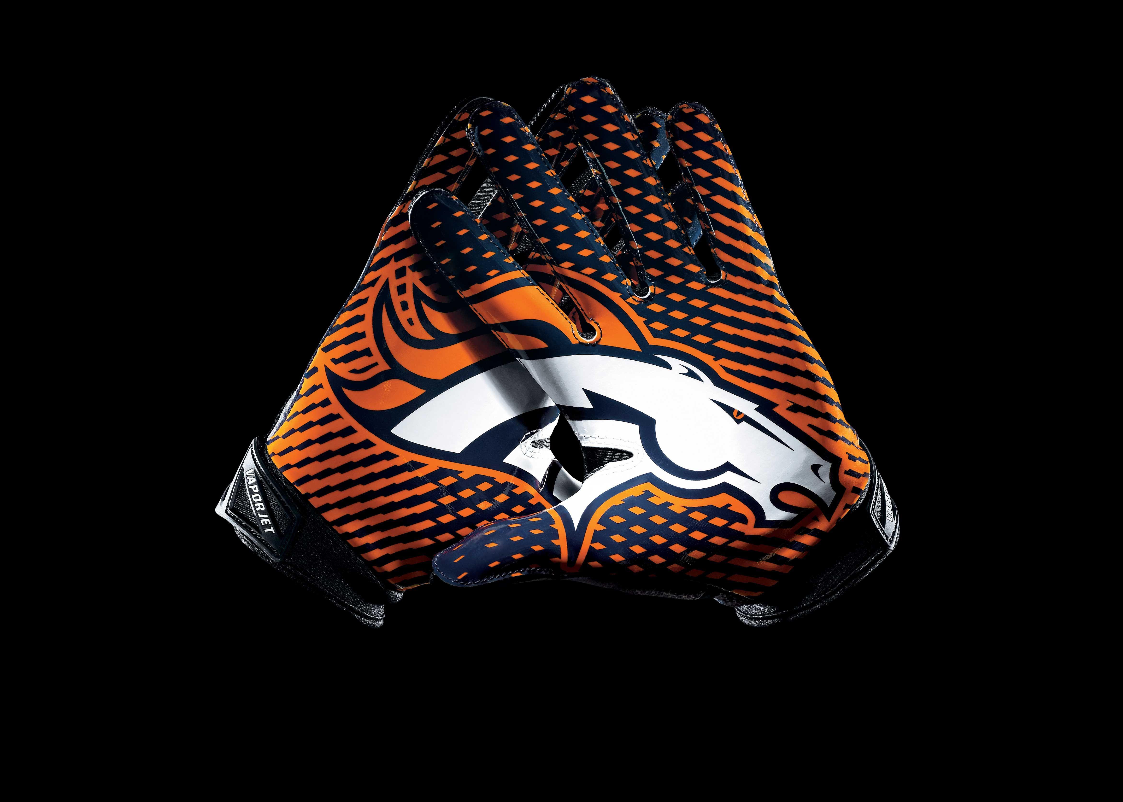 Denver Broncos Gloves Wallpaper Sports teams Pinterest