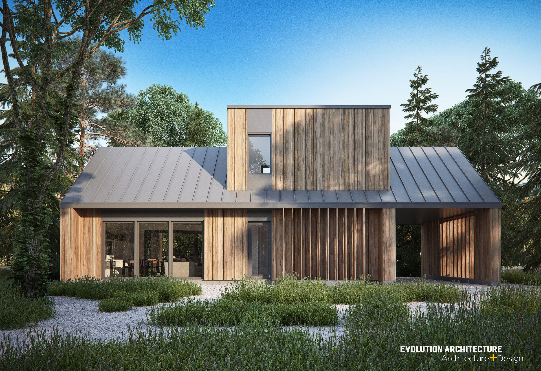 Mini Maison Architecture Planmaison Moderne Bois Cozy