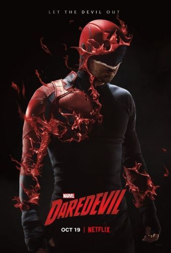 "Daredevil Season 3 Poster TV Series 13x20/"" 24x36/"" 27x40/"" Charlie Cox Art Print"