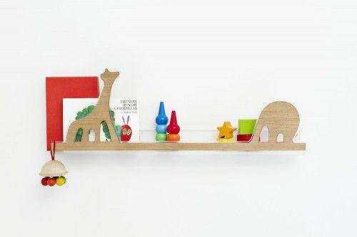 Bonitos estantes de pared para niños Estantes de pared, Muebles - muebles de pared