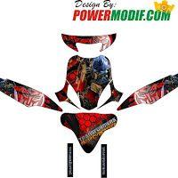 Decal Motor Mio Tema Transformer Powermodif Pinterest - Mio decals